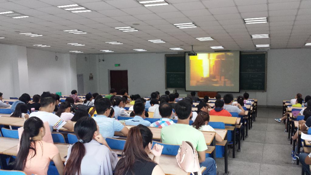 化学化工与环境学部2014级硕士研究生实验室安全教育大会