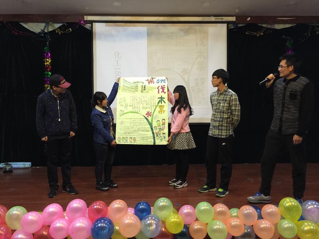 与环境学部成功举办寝室文化节之班级板报设计大赛